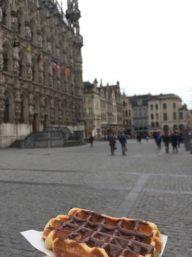 Pinoccio waffles
