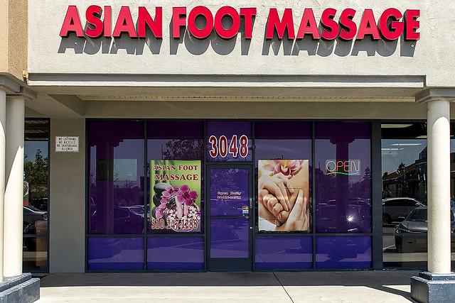 Asian Foot Massage