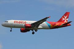 9H-AEK | Airbus A320-214 | Air Malta