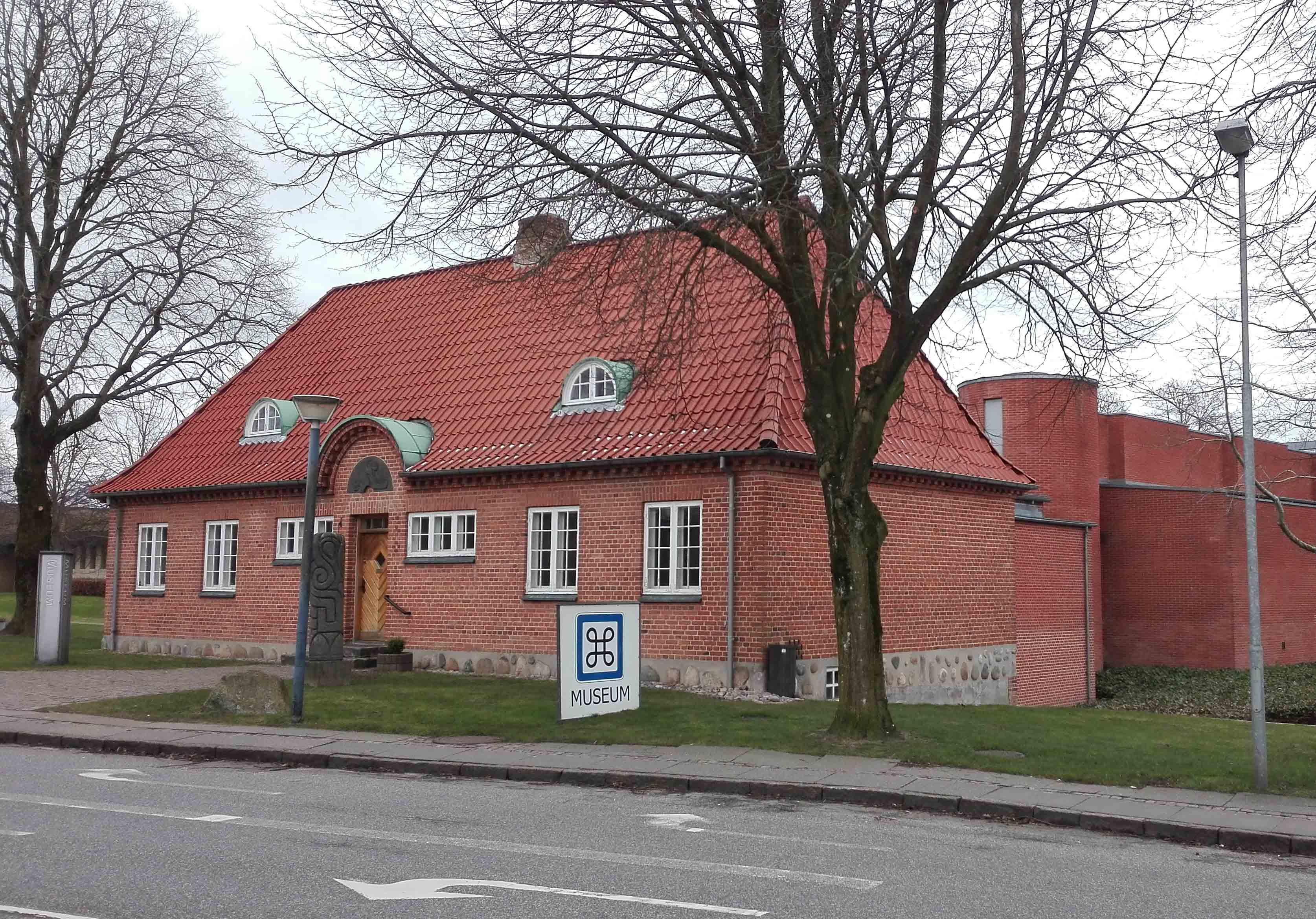 Vesthimmerlands Museum in Års, Denmark. Photo taken on March 7, 2017.