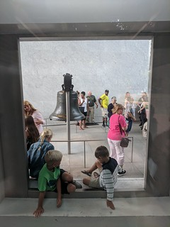 Image of Liberty Bell.
