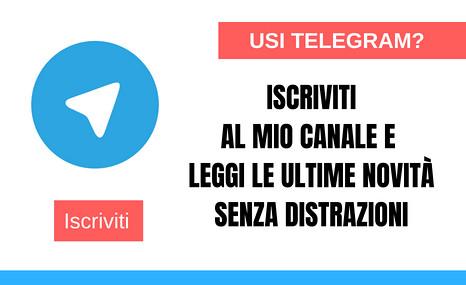 telegram promozione romanzi
