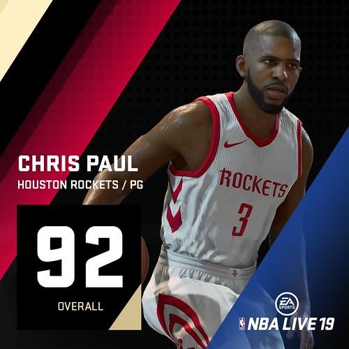 NBA Live 19 Chris Paul