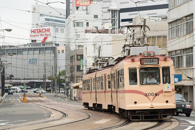 広電3004号 Hiroshima Electric Railway