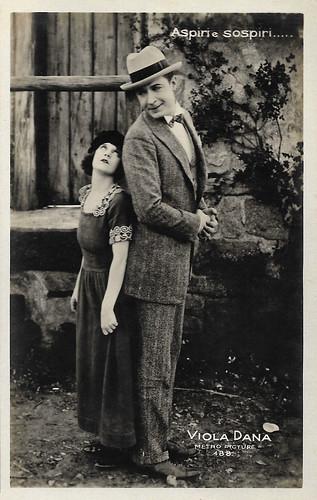 Viola Dana and Monte Blue in Revelation (1924)
