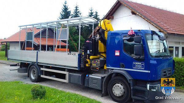 Postavljanje autobusnih stanica na Ljubošini i Senjskom