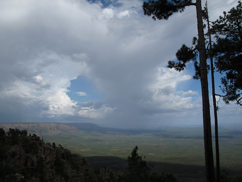 arizona wild landscape skyscape summerstorms view mogollonrim pronouncedmuggyown therim stormy weather storms cliffedge forest mountains viewpoint gnarlylandscape stormyweather monsoon2018 thunderstorms rain 100mileview vista summer sky coloradoplateau 7600ftelevation highcountry outinthewild nature southwest canonpowershotg12 pspx9 zoniedude1 earthnaturelife