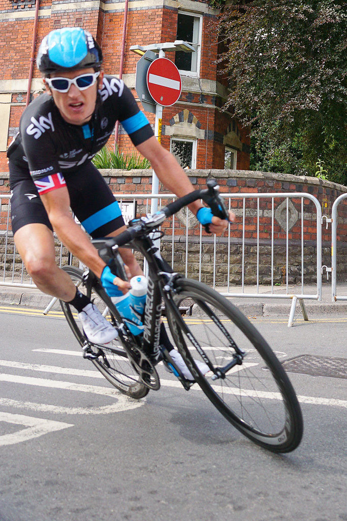 Geraint Thomas - 2014 National Road Race