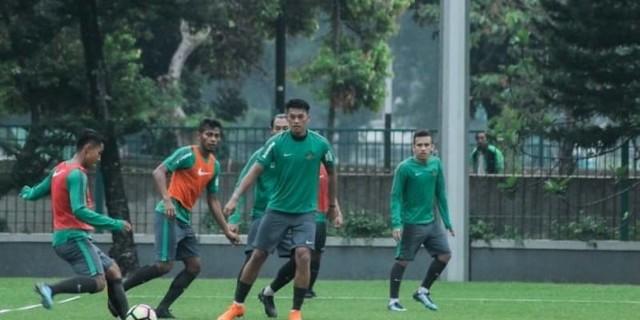 Persiapan Akhir Sebelum Asian Games, Timnas U-23 Latihan Di Bali
