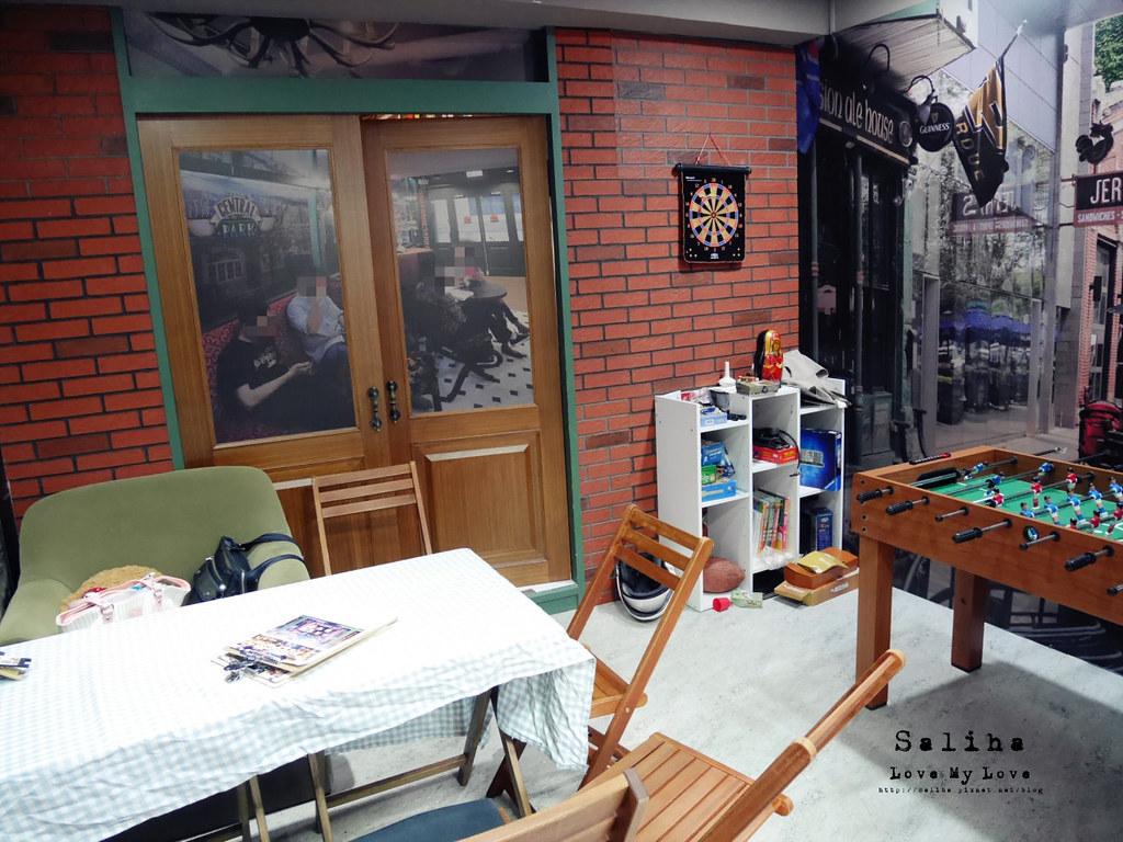 台北捷運公館台電大樓站附近中央公園咖啡館包廂玩桌遊 (2)