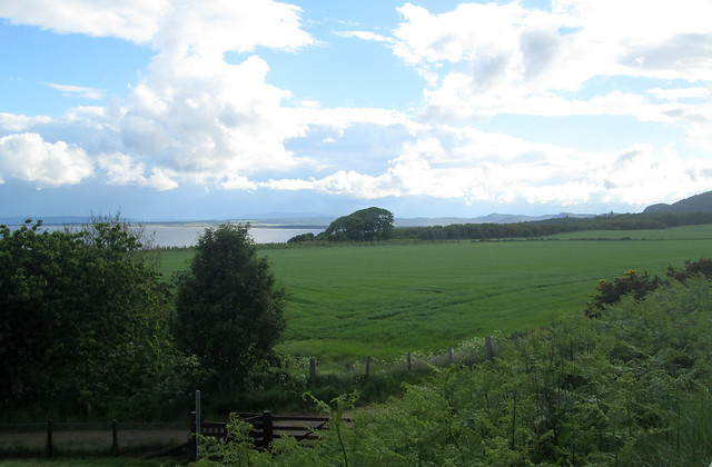 Towards Golspie and Dunrobin Castle