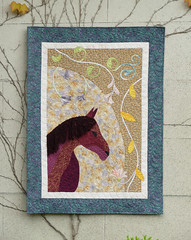 horse finished quilt