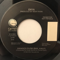 ENYA:ORINOCO FLOW(SAIL AWAY)(LABEL SIDE-A)