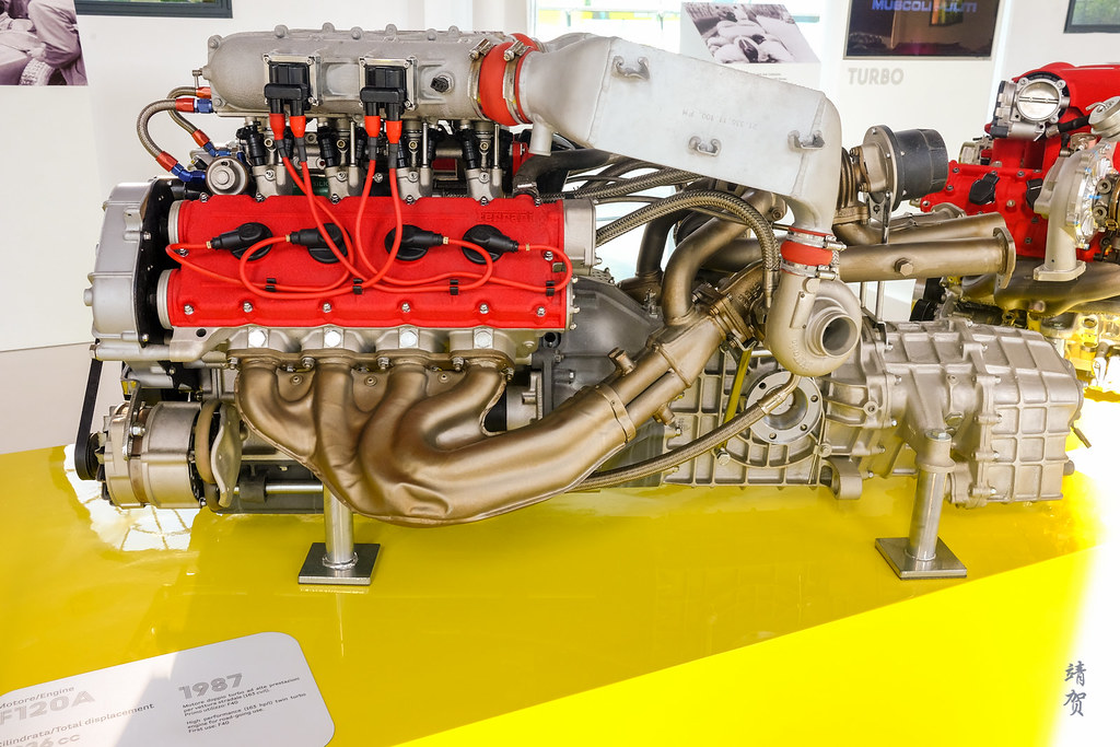 F120A engine in the F40