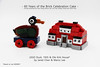 60 Years of the Brick Celebration Cake (2018) - LEGO Duck by Jared Chan & Ole Kirk House by Me