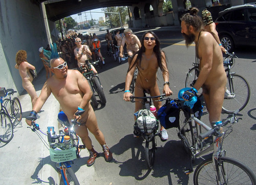 L.A. World Naked Bike Ride 2018 (143938)