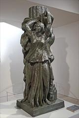D'après Isadora Duncan d'A. Bourdelle (Musée Camille Claudel, Nogent-sur-Seine)