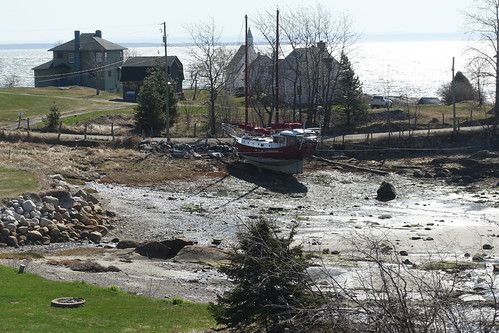 Charlevoix Saint-Simeon Village along the Coast. From History Comes Alive in Charlevoix, Quebec