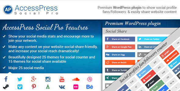 AccessPress Social Pro v1.3.7