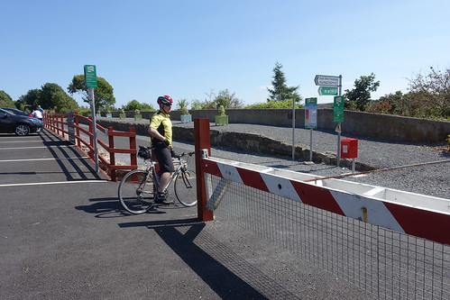 Greenway - the Dungarvan to Waterford cycle path.