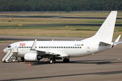 TUIfly B737-700 D-AHXF parked at TXL/EDDT