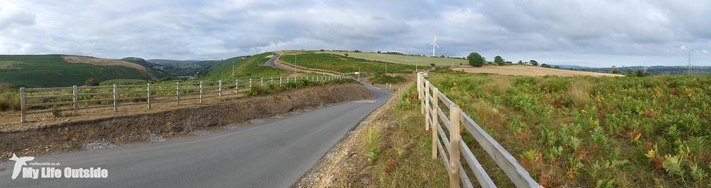 P1170603 - Route of the Mynydd y Gwair wind farm access track