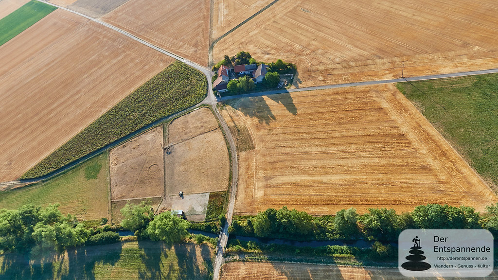 Die Weißmühle an der Selz zwischen Friesenheim und Bechtolsheim