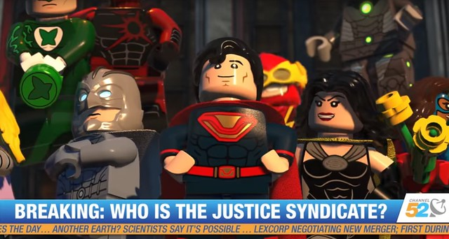 LEGO DC Super-Villains SDCC Trailer Drops