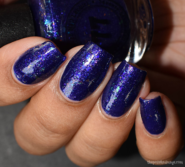 seventy seven nail lacquer when night is blind 5