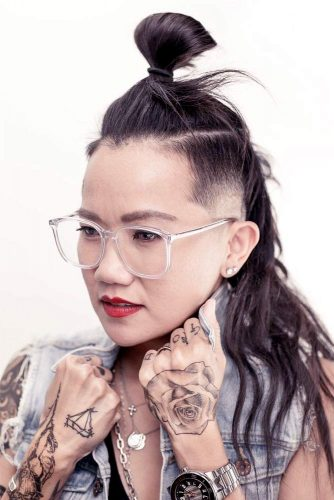LATEST UNDERCUT FADE HAIRSTYLES FOR BOLD WOMEN TO AMAZE YOUR FRIENDS 10
