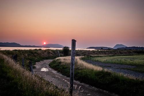 Skagit Sunset over Orcas Island-009