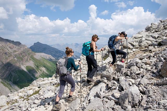 Scrambles - Mt. Bourgeau-3