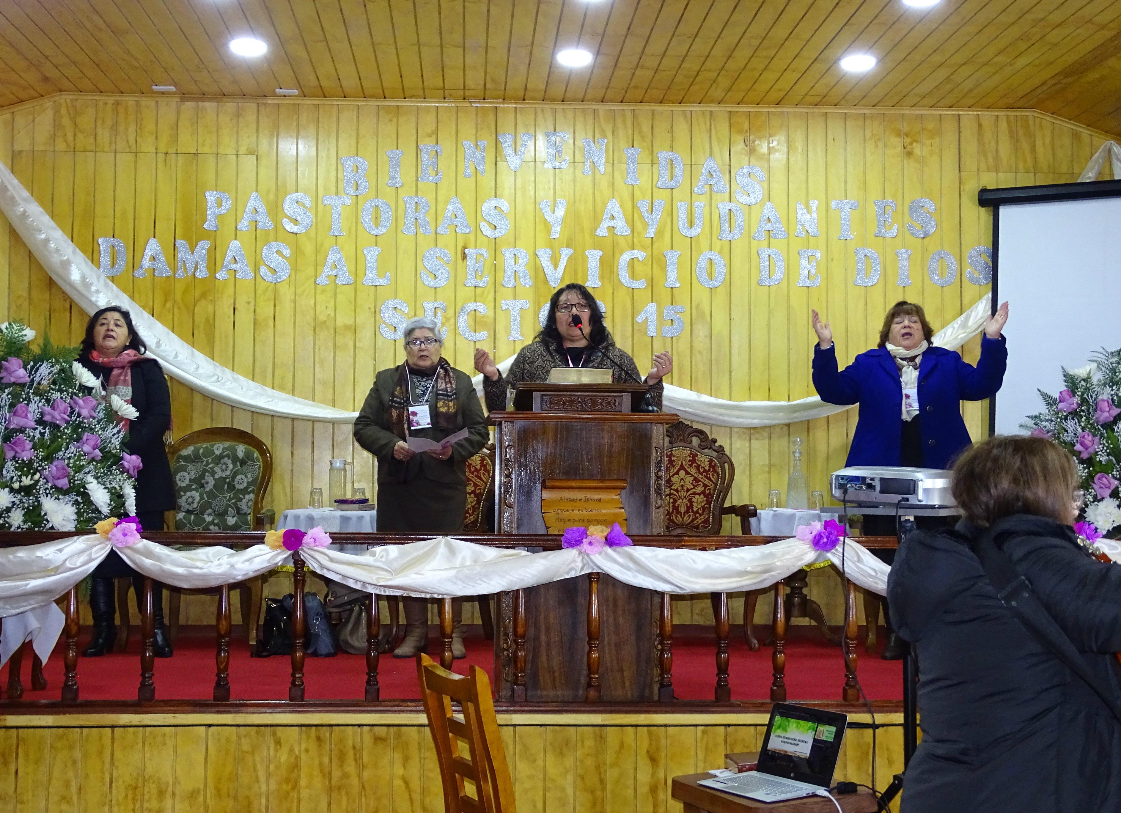 Evento de Pastoras y Ayudantes de Dorcas Sector 15