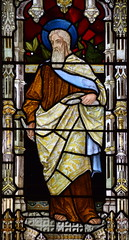 St Matthew (Henry Holiday for Powell & Sons, 1878)