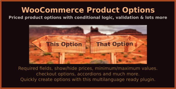 WooCommerce Product Options v6.1 – priced product options with conditional logic, validation & lots more