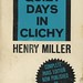 Black Cat Books BC-98 - Henry Miller - Quiet Days in Clichy