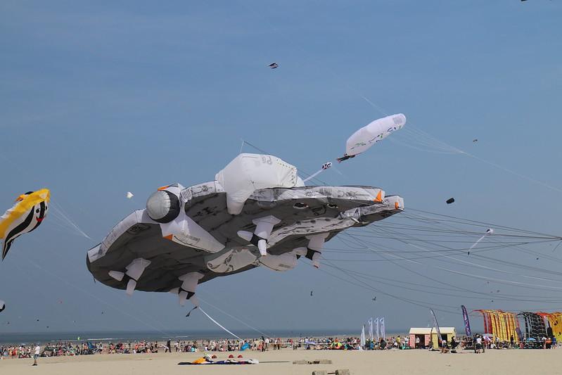 Faucon Millenium - Cerf Volant - Kite