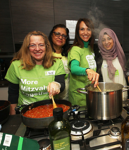 JW3 Interfaith cooking for homeless | by Sadaqa Day