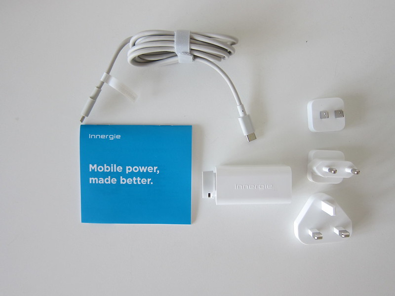 Innergie 60C USB-C Power Adapter - Box Contents