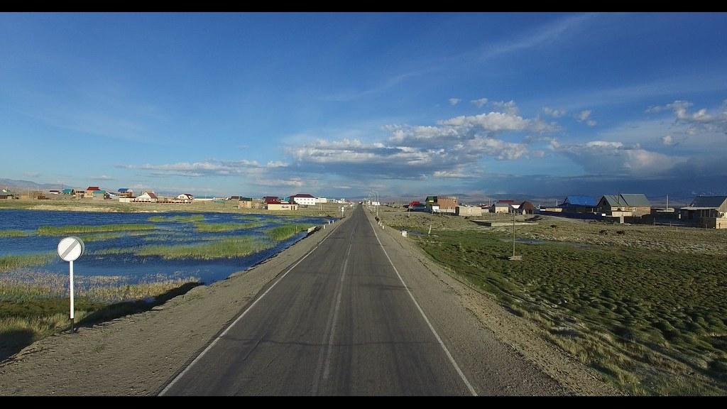 M-52 highway in Kosh-Agach