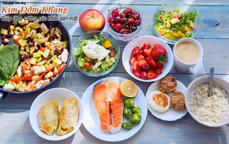 Chế độ ăn uống hợp lý giúp cải thiện sức khỏe nhanh chóng sau mổ cắt túi mật