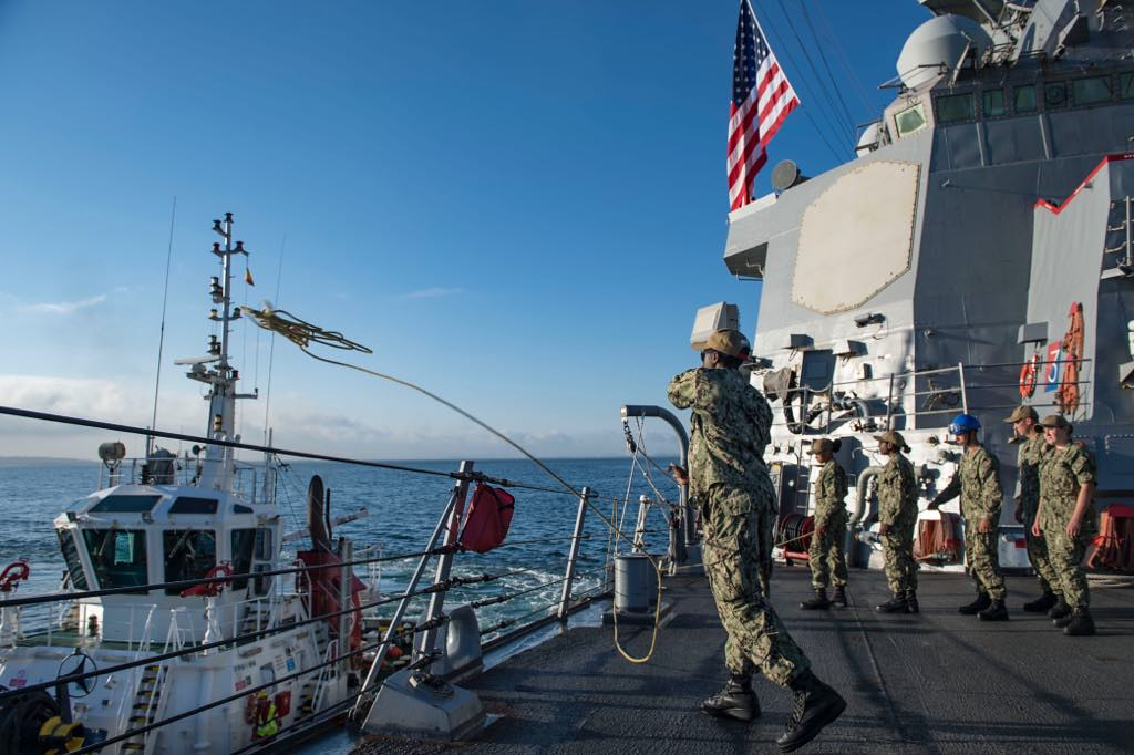 USS Porter returns from 5th FDNF patrol