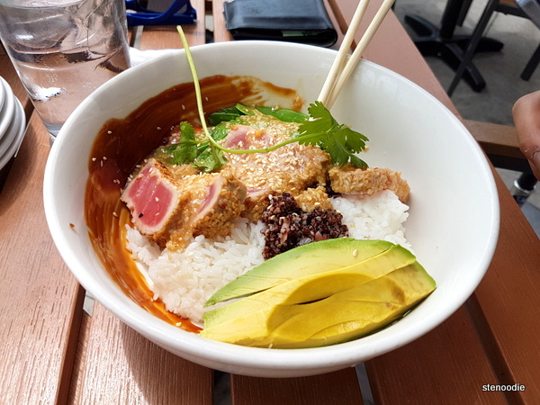 Miso Sesame Tuna Bowl