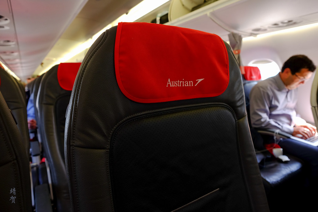 Austrian logo on headrest