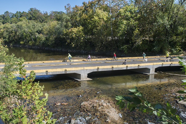 Roanoke River Greenway - Biking