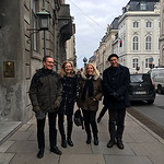 Walking in Copenhagen