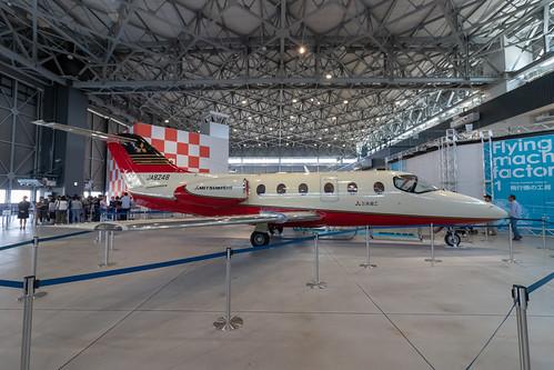 MU-300の機内公開に行ってきた。...
