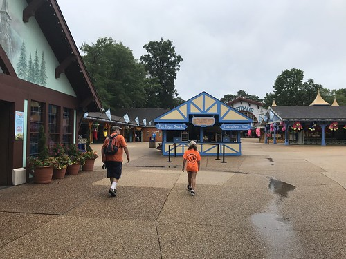 Rainy Day at Busch Gardens