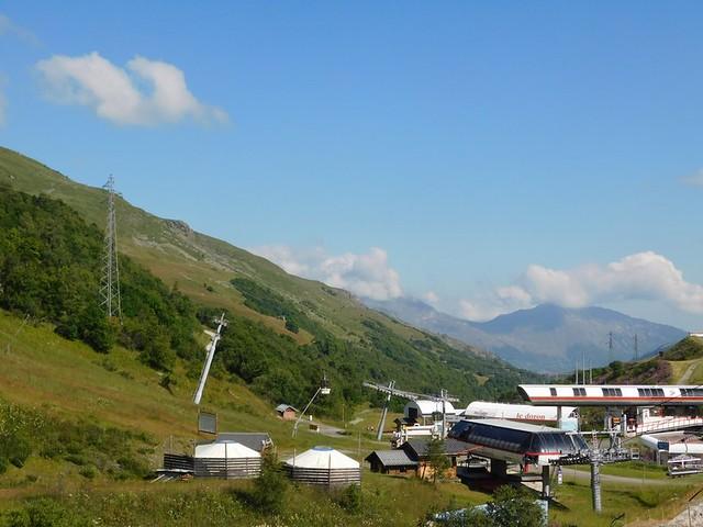 14/07/2018 au 28 Val Thorens – 23/07/2018  Du télécabine Masse 1 Rando vers le Lac du Lou puis Val Thorens par télécabine du Cairn (15kms)