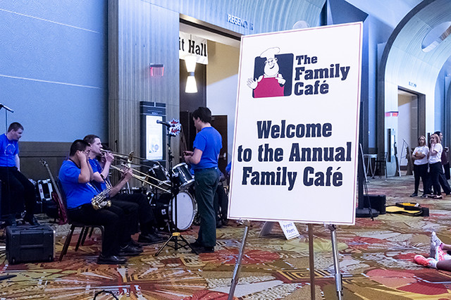 The 20th Anniversary Family Cafe